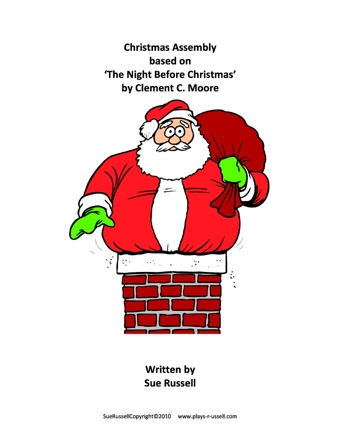 Worksheet. Night Before Christmas Assembly  Teaching Ideas