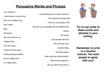 write great persuasive essays Very often teachers assign persuasive essay to high-school, college and university students in order to evaluate their writing skills and ability to persuade.