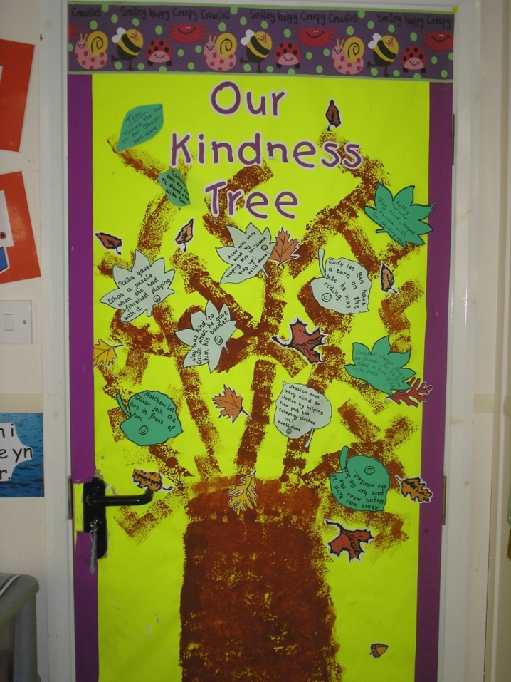 Character Design Ks2 : Our kindness tree display teaching ideas