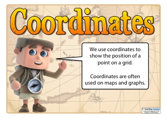 Coordinates teaching ideas the coordinates pack sciox Image collections