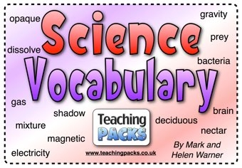 The Science Vocabulary Pack
