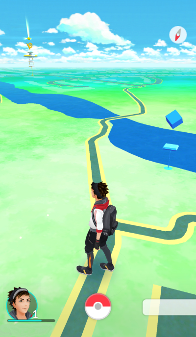 Ways to use Pokemon Go in the Classroom - Map
