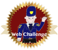 Web Challenge Badge