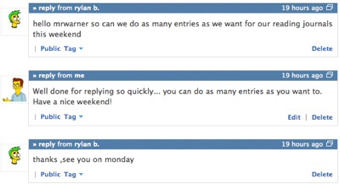 Edmodo Messages