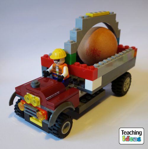 Designing a Vehicle with Lego