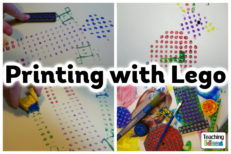 Printing With Lego Teaching Ideas