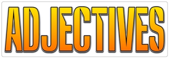 Adjectives Banner
