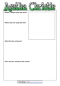 Agatha Christie's Biography Template