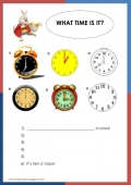 Alice in Wonderland - What time is it?