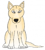 Dingo Cartoon Poster