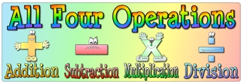 Image result for four operations