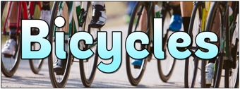 Bicycles Banner