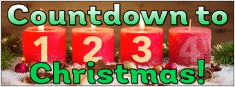 Countdown to Christmas Banner