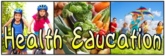 Health Education Banner