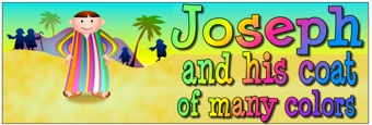 Joseph and his coat of many colors Banners