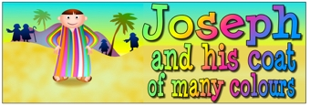 Joseph and his coat of many colours Banners