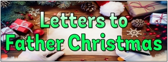 Letters to Father Christmas Banner