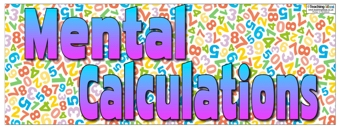 Mental Calculations Banner