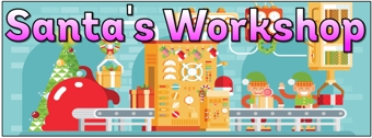 Santa's Workshop Banner