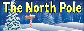 The North Pole Banner