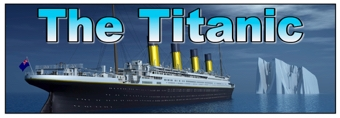 The Titanic Banner 2