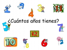 Spanish - How old are you?