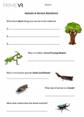 Borneo Visit - Worksheet