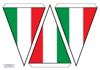 Flag Bunting - Italy