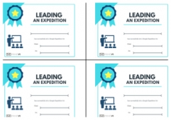 Certificates - Leading an Expedition
