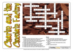 Charlie and the Chocolate Factory Crossword