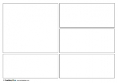 photo relating to Printable Comic Strips named Comedian Strip Templates Training Options