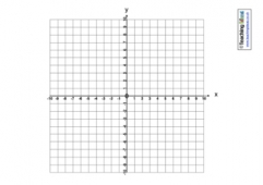 Coordinate Grid Templates | Teaching Ideas