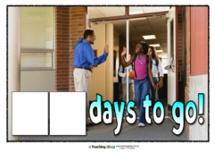 Count Down to the End of the Year Poster