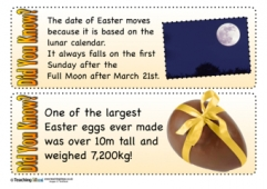 Easter Did You Know? Cards