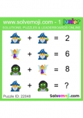 Junior Emoji Puzzles (Set 1)