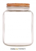 Empty Jar Template