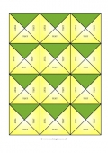 Equivalent Squares Template