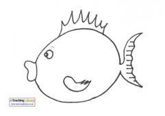 Fish Colouring Pages