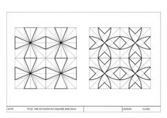 Octagons in a Square 2