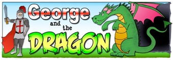 George and the Dragon Banner