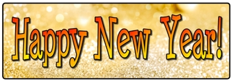 Happy New Year Banner