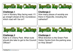 Hopeville Map Challenge Cards
