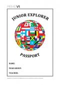 Junior Explorer Passport