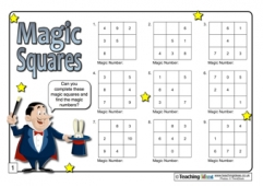 Magic Squares Challenges