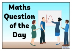 Maths Question of the Day Poster 2
