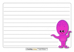 Monster Paper Templates