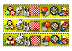 picture relating to Free Printable Bulletin Board Borders Template named Printable Demonstrate Borders Coaching Guidelines