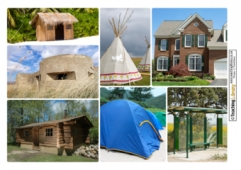 Shelters Collage