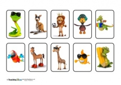 Sorting Animals - Cards