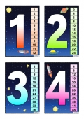 Space Multiplication Cards